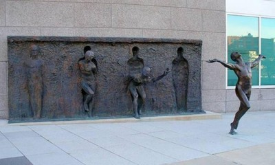 Freedom-sculpture